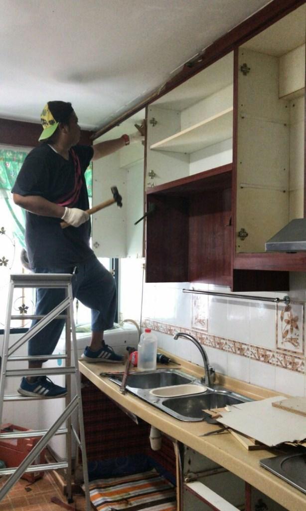 פירוק מטבח - איך מפרקים מטבח - כמה עולה פירוק מטבח